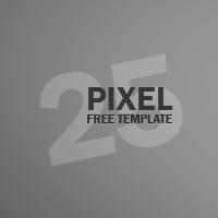 25 pixel