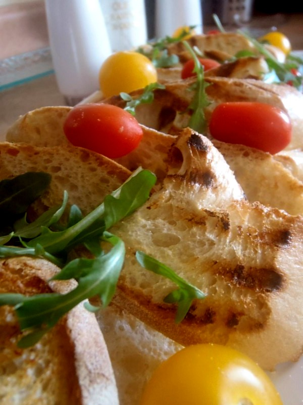 Toronto bites panzanella salad Barefoot contessa panzanella