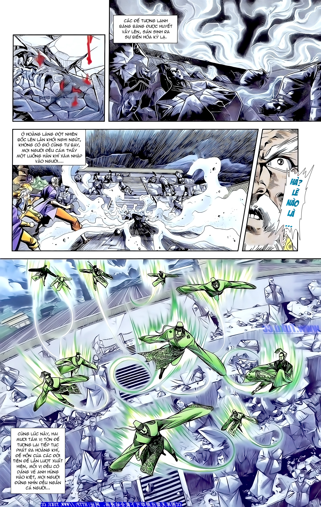 Cơ Phát Khai Chu bản Chap 163 - Trang 12