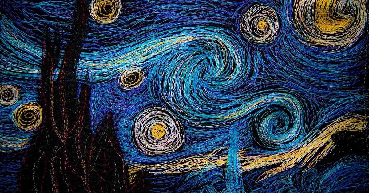 Machinequilter The Starry Night