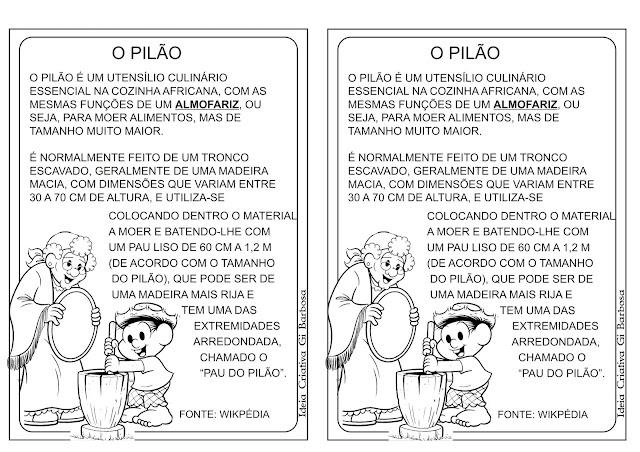 Texto Informativo Ilustrado O PILÃO
