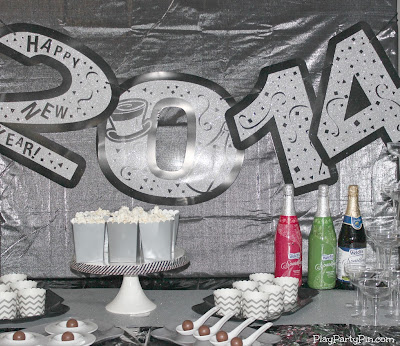 2013 New Year's Eve Party Games and Ideas from playpartypin.com #NewYearsEve #Games #Party