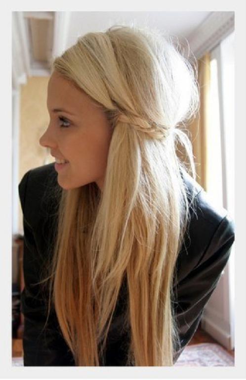 peinado como hacer ondas sueltas y naturales con plancha en solo  - Peinados Con Plancha Faciles