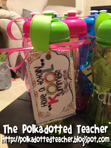 math worksheet : the polka dotted teacher goodbye class of 2011 2012 : End Of Year Gift For First Grade Teacher