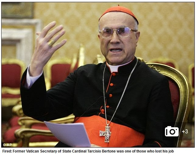 Pope Francis Fires All But One Cardinals Who Run Vatican Bank
