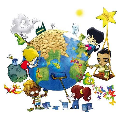 papel constructivo en el proceso de conservación del medio ambiente