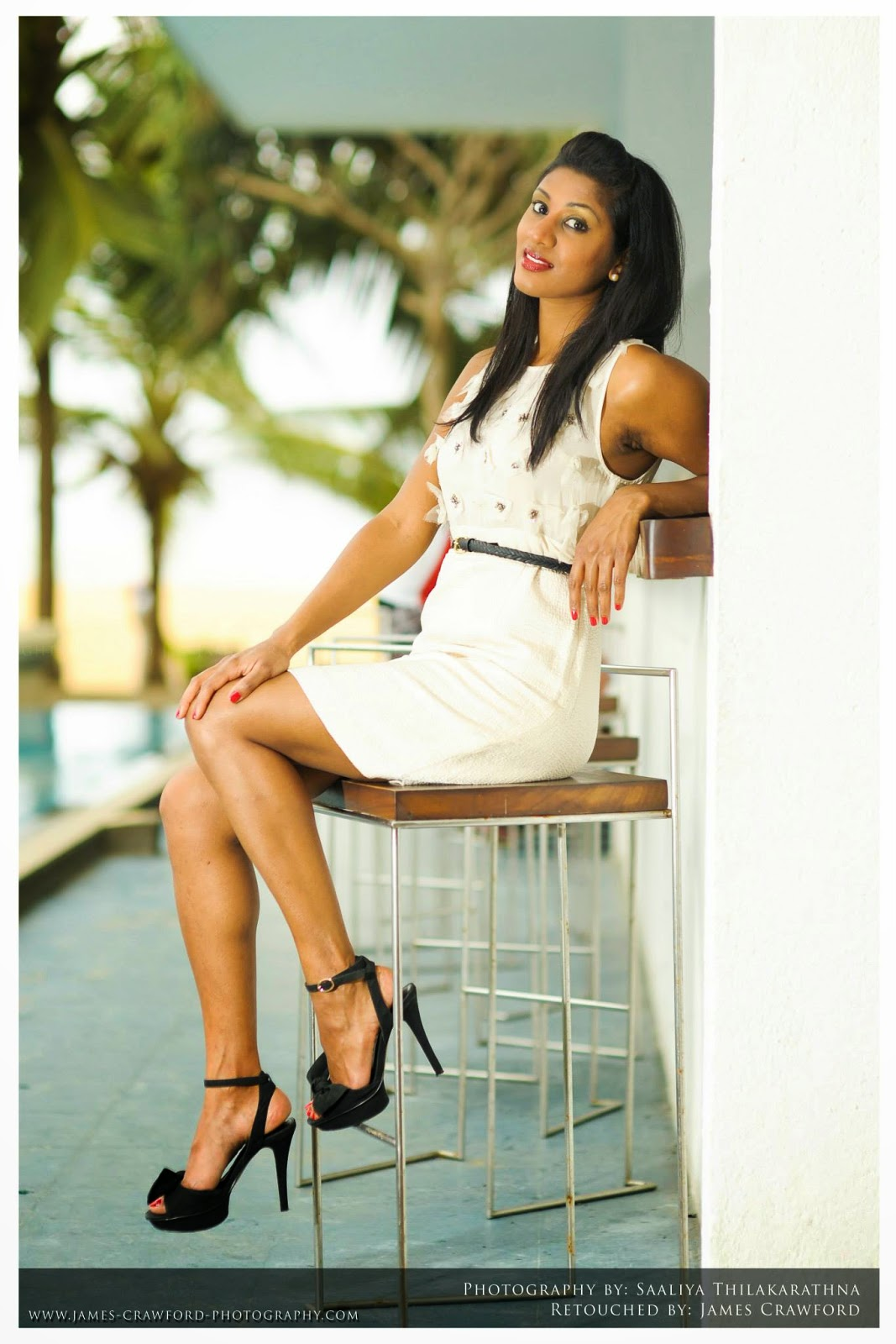 Milana Gamage thighs