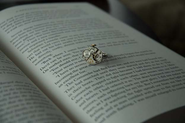 teateastreats.etsy.com time traveler ring by tiarra taylor