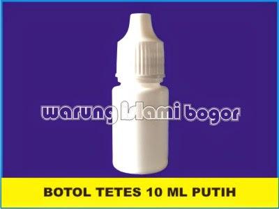 Jual Botol Tetes OTEM 10ml Putih Susu