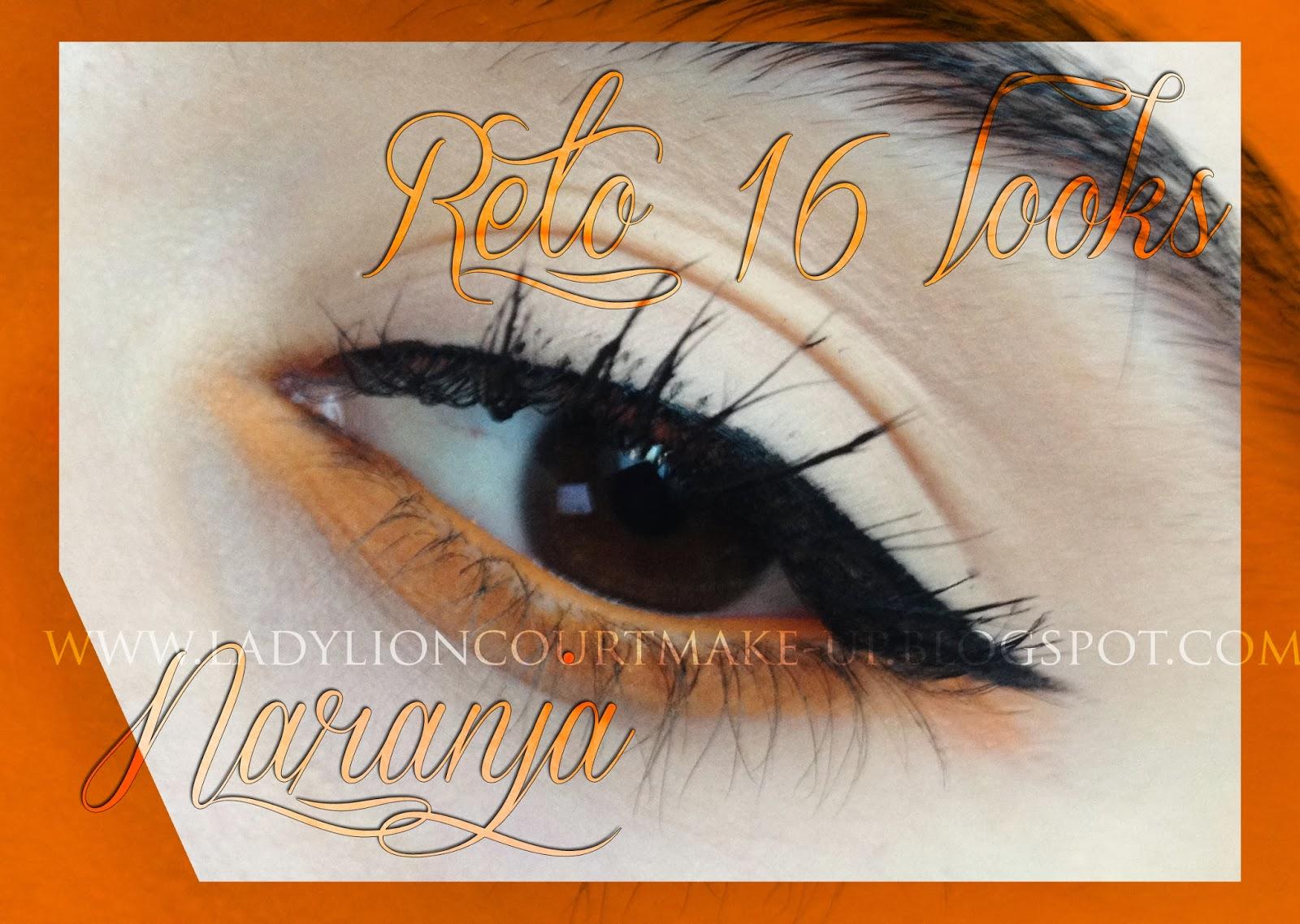 Reto 16 looks: Naranja