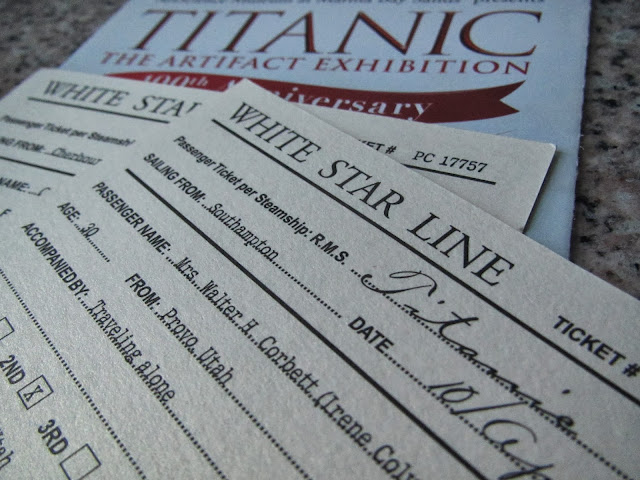 Titanic exhibition Art science museum