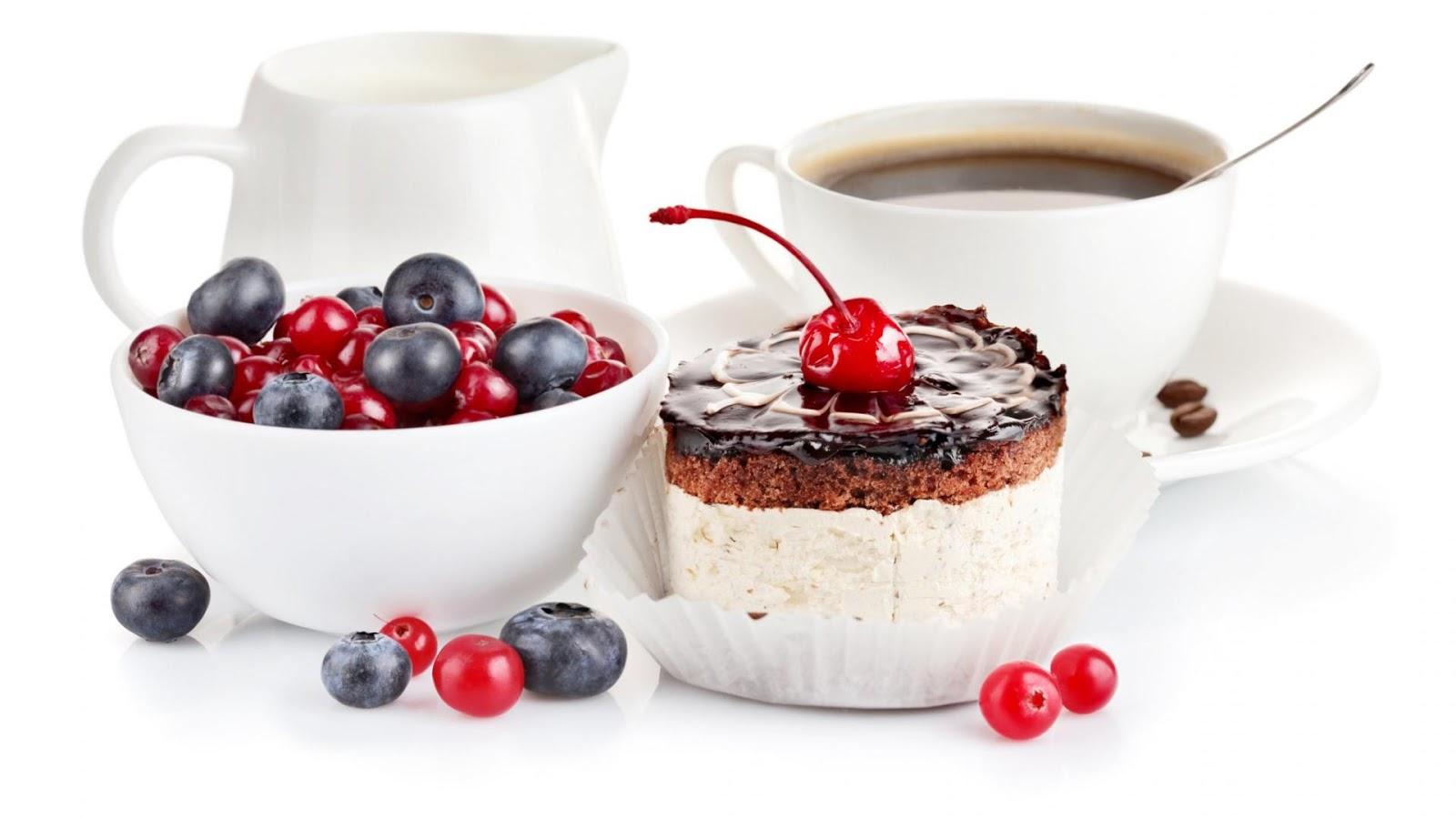 Coffee Cake Cherry Pudding