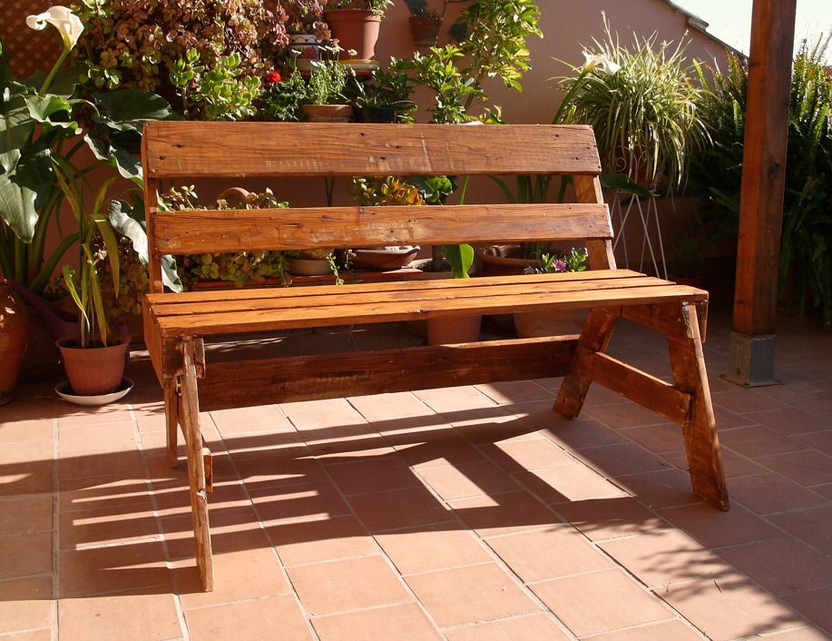 Los muebles de exterior de palets de malen - Muebles de palets de madera ...