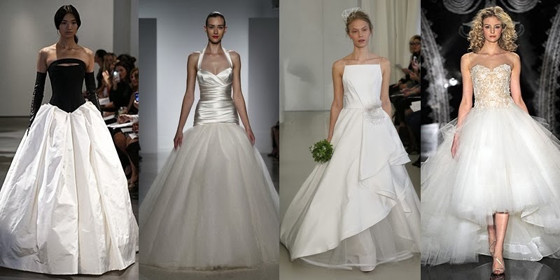 Fashion Wedding Dresses Trends For Spring-Summer 2014