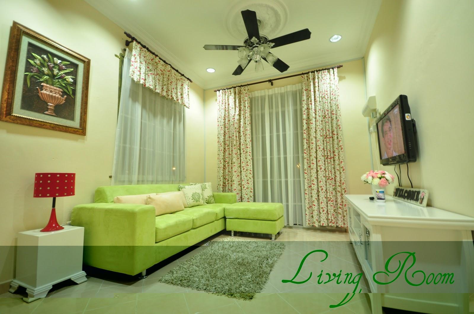 idea lampu hiasan ruang tamu rumah apartment share the
