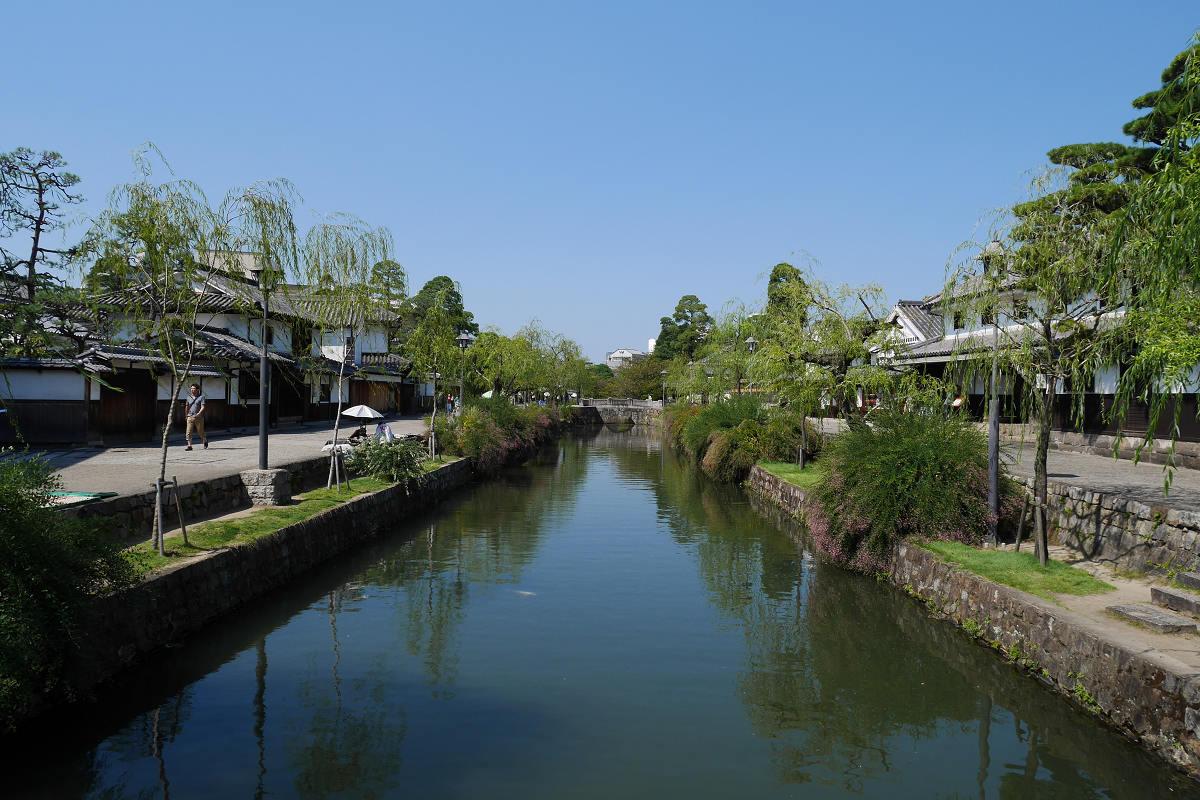 [岡山] 倉敷美觀地區從早玩到晚 ふるいち烏龍麵、有鄰庵、三宅商店、如竹堂