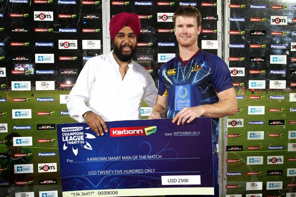 James-Neesham-Man-of-the-Match-Highveld-Lions-vs-Otago-Volts-M14-CLT20-2013