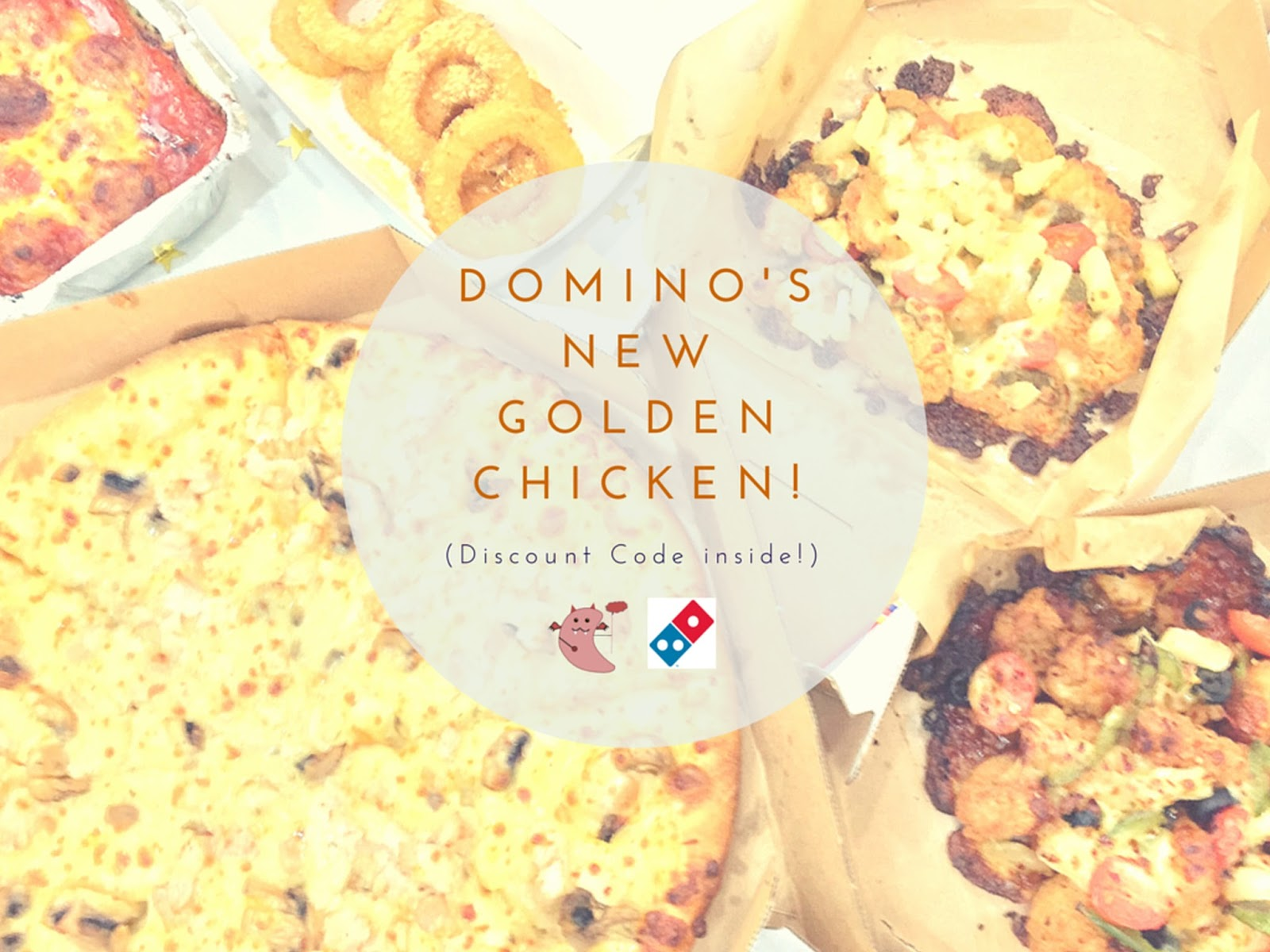 Domino's Pizza - Golden Chicken