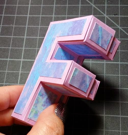 For more tutorial on the 3D Letter Boxes see links below: 3D Box Letter A -Video