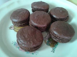 chocolate macaroon 朱古力馬卡龍