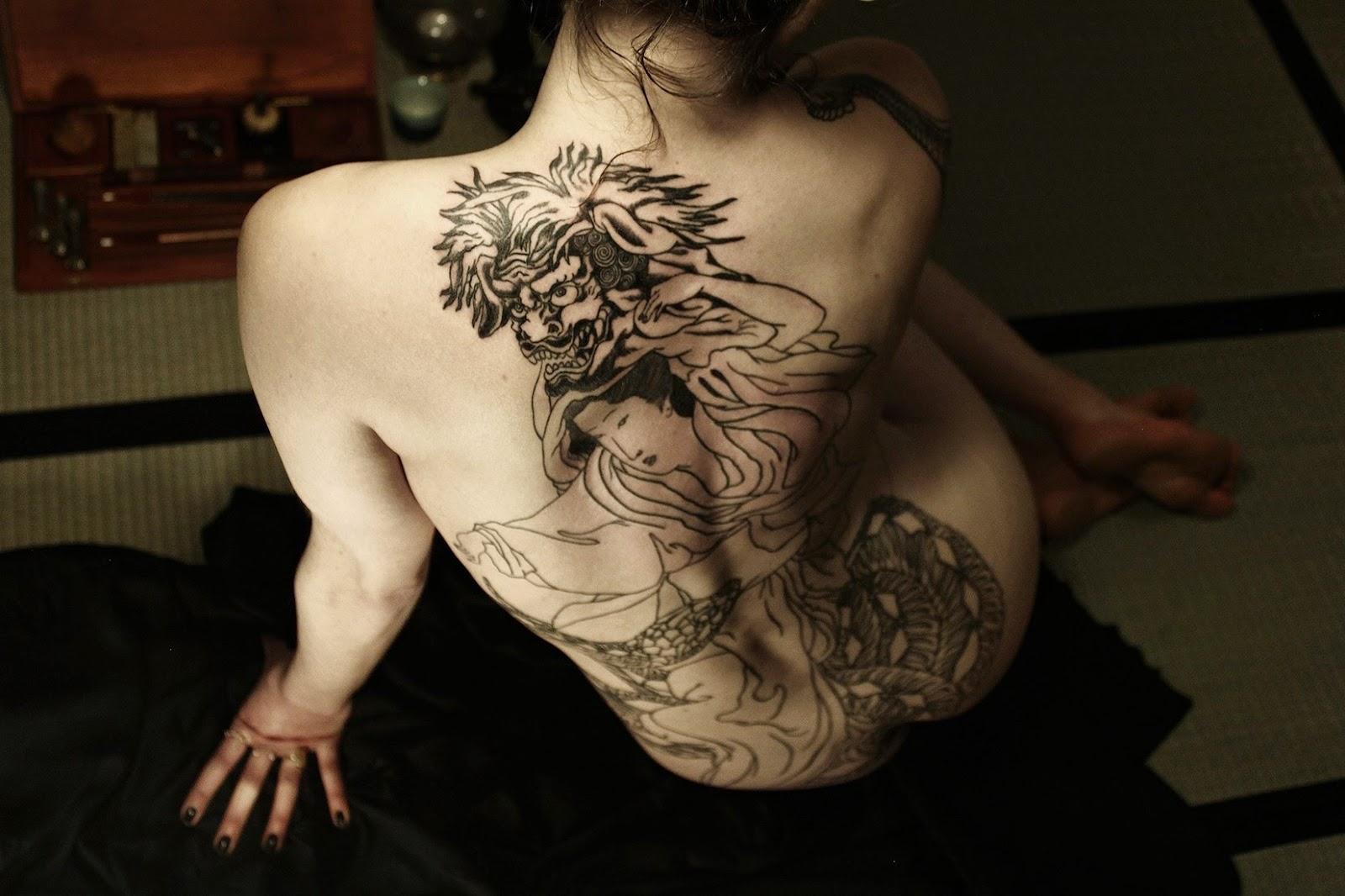 Specialiste Tatouage Japonais Paris - Tatouage Japonais à Paris Bernard Soufflet Horisei