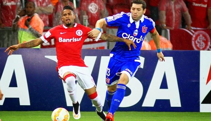 U de Chile vs Internacional en vivo