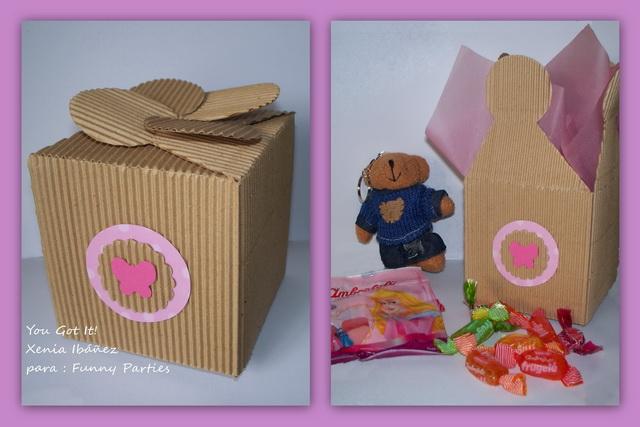 Como hacer cajas de sorpresas para cumpleaños infantiles - Imagui