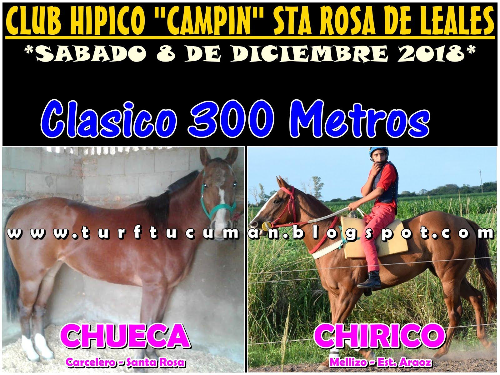 CHUECA VS CHIRICO