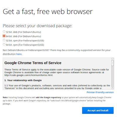 Install Google Chrome di Ubuntu 13.10/13.04