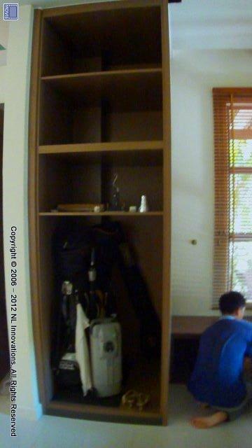 Golf Bag And Storage Unit