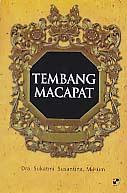 toko buku rahma: buku TEMBANG MACAPAT, pengarang sukatmi susantina, penerbit panji pustaka