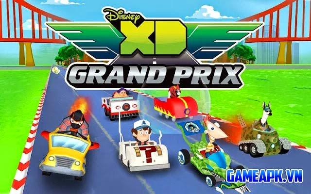 Disney XD Grand Prix v1.0 hack full tiền cho Android