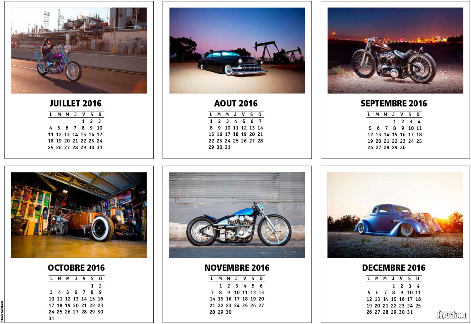 Art Calendar Business Magazine : Joyrides art co kustom magazine calendar