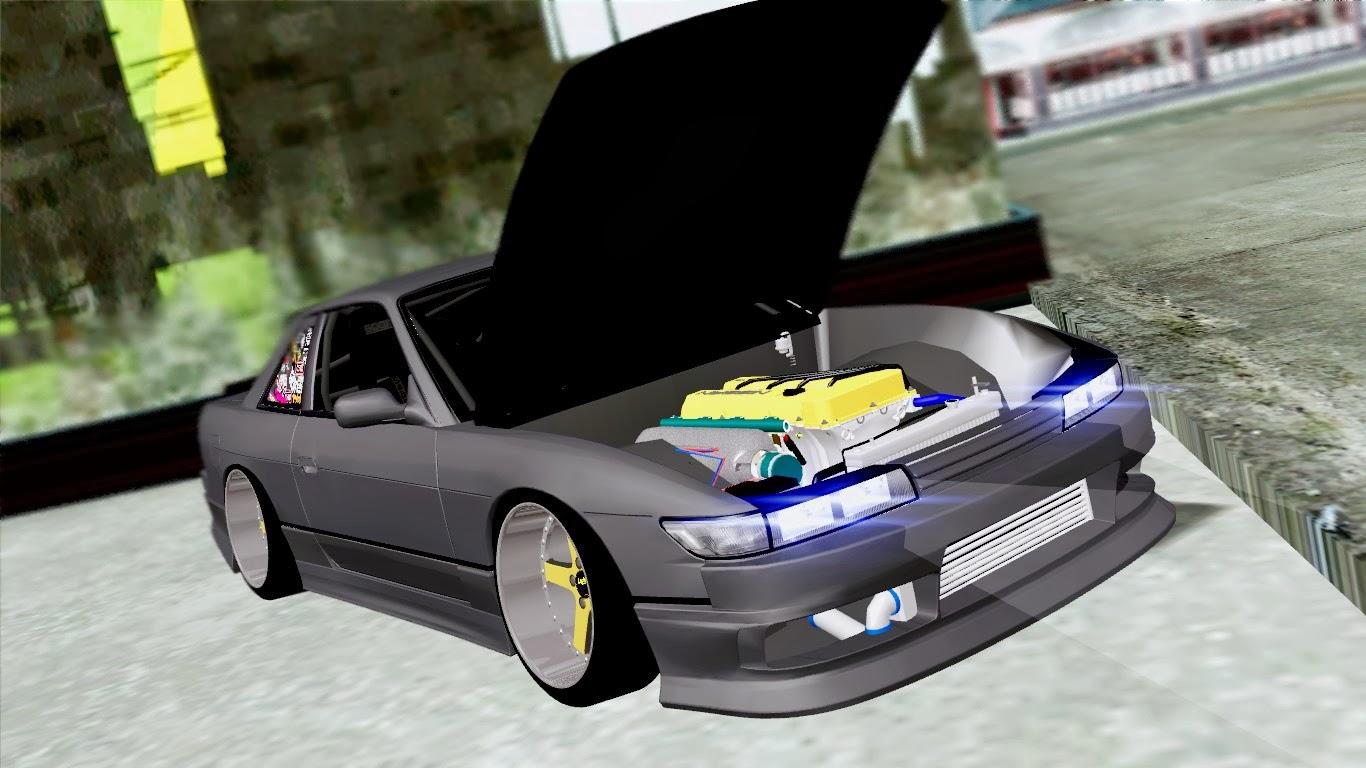 Nissan Silvia S13 HellaDrift ~ JDM - Stance - Drift GTA SA.