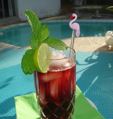 ... course you can add sugar to your taste. Go ahead and add some rum