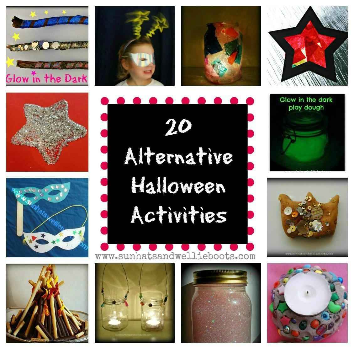 Sun Hats & Wellie Boots: 20 Alternative Halloween Activities ...