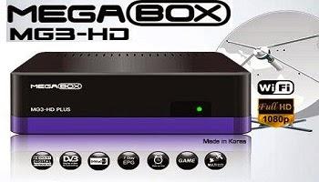 NOVA ATUALIZAÇÃO MEGABOX MG3 PLUS HD - 28/08/2015