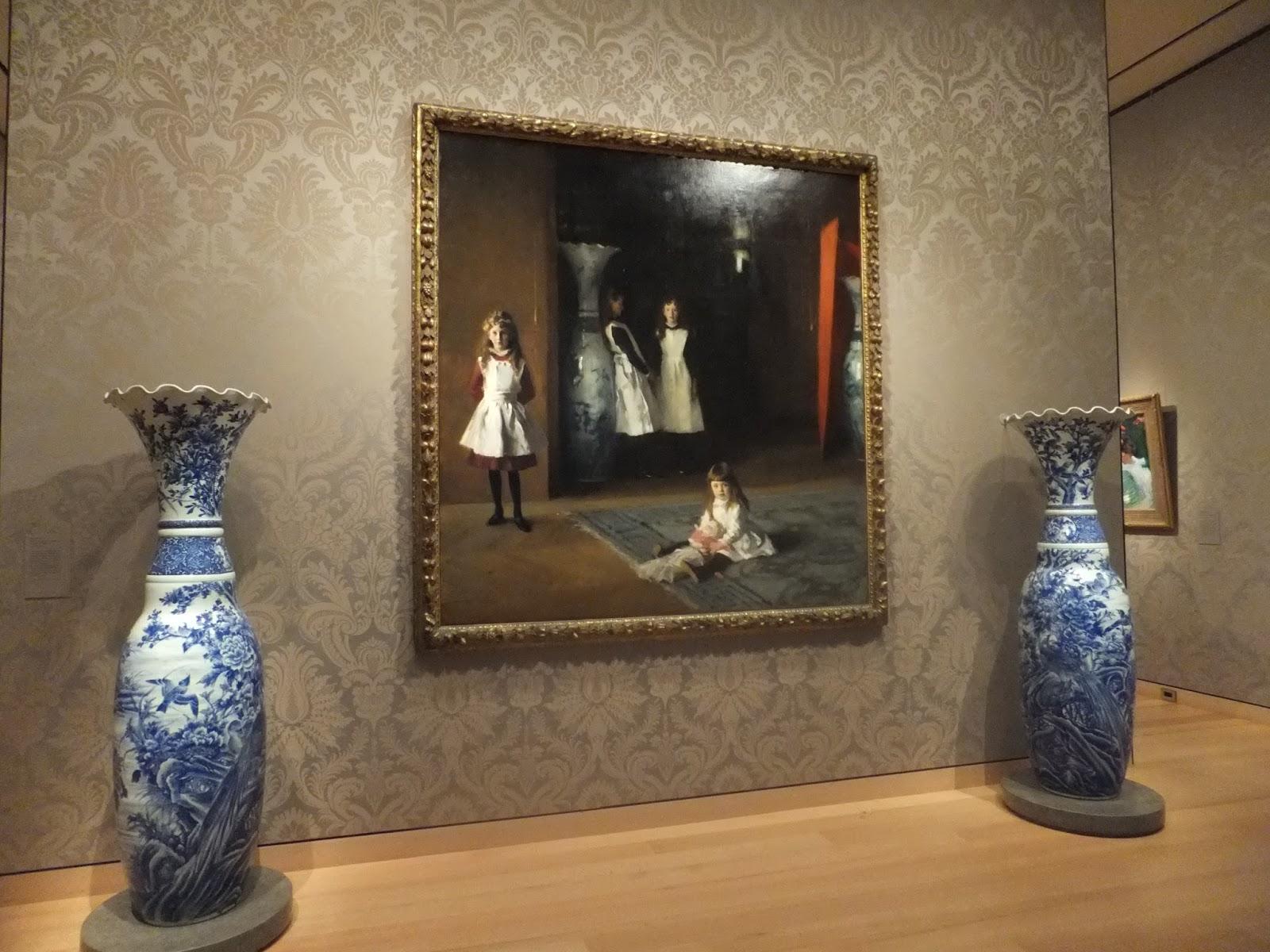 驚異の青い部屋: Sargent's Daug...