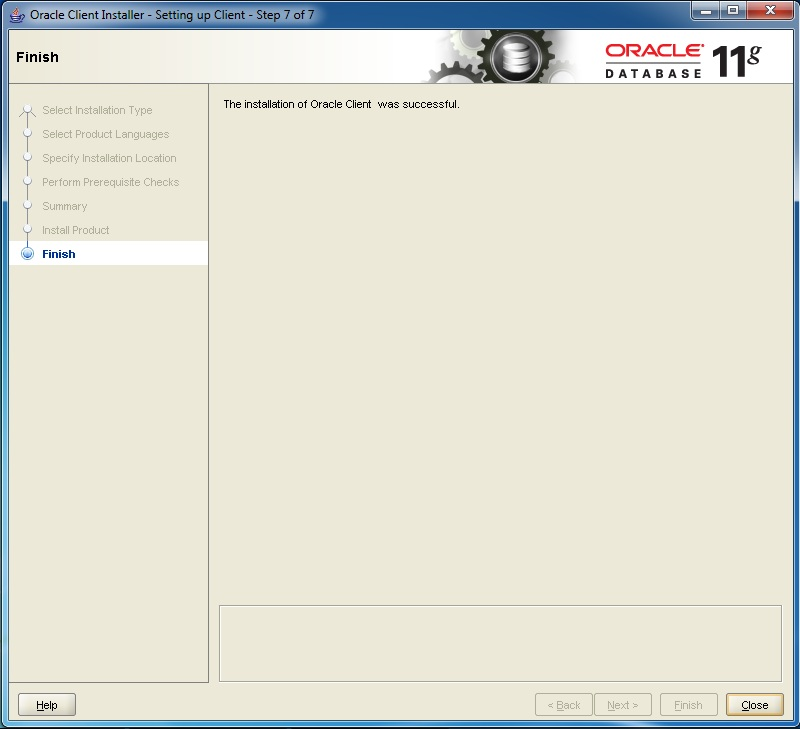 Step by Step Installation of Oracle 11g 64bit in Windows7 64bit