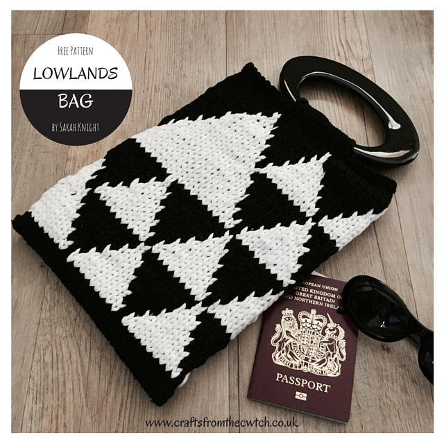 Free Knitting Pattern Lowlands Bag Crafts From The Cwtch