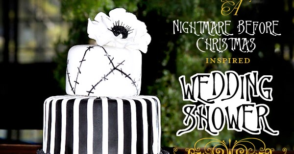 confessions of a holiday junkie nightmare before christmas wedding shower. Black Bedroom Furniture Sets. Home Design Ideas