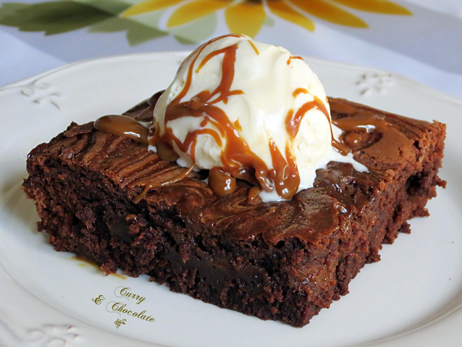 Brownies con dulce de leche – Dulce de leche brownies
