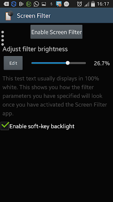 Screen Filter Android