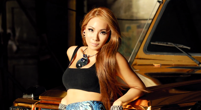 cl 2ne1 falling in love mv