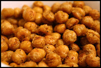 http://foodiefelisha.blogspot.com/2012/10/roasted-chickpeas.html