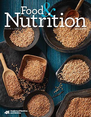Published in Food & Nutrition Magazine