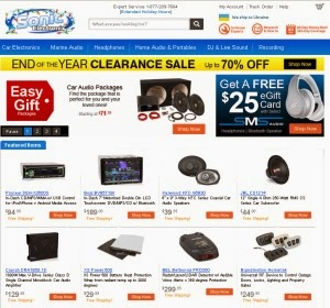 / Sonic Electronix Coupon Code Add to Your Favorites Take a look at our 3 Sonic Electronix discount codes including 1 coupon code, 1 sale, and 1 free shipping promo code.