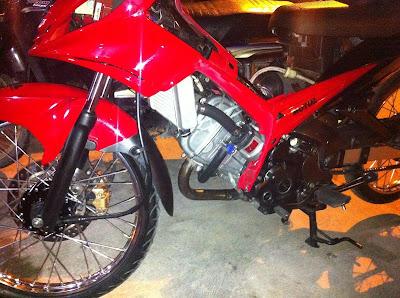 Tips dan Cara Mengubah Bureng Yamaha Jupiter MX 135