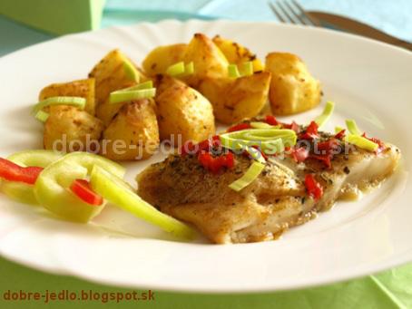 Pečená ryba s bylinkami - recepty