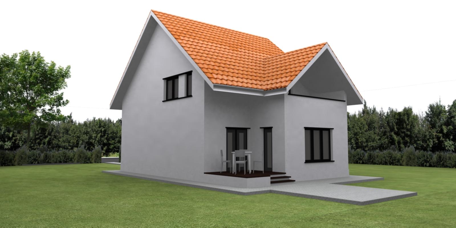 Case planuri proiecte proiect vila tip d for Planuri de case